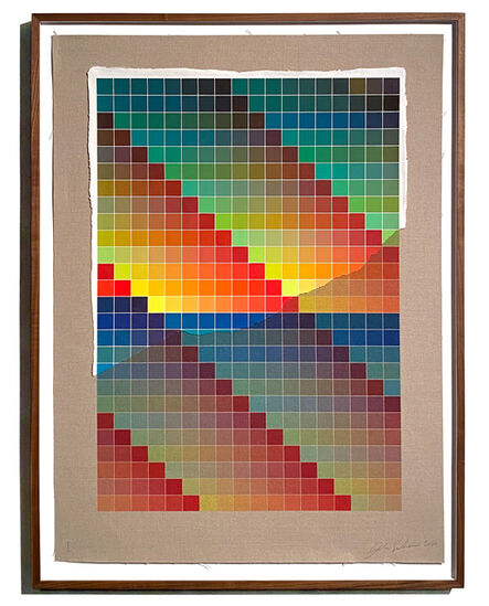 Analía Saban, 'Transcending Pigment from Paint to Canvas, from Canvas to Paint (Color) #1', 2020