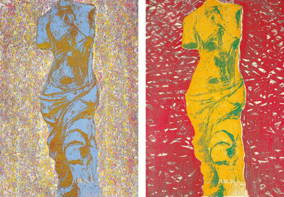 Jim Dine, 'Nine Views of Winter 6; and Nine Views of Winter 9', 1985