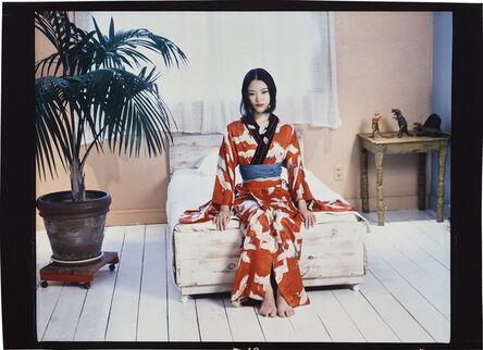 Nobuyoshi Araki, 'Red Kimono', 2004