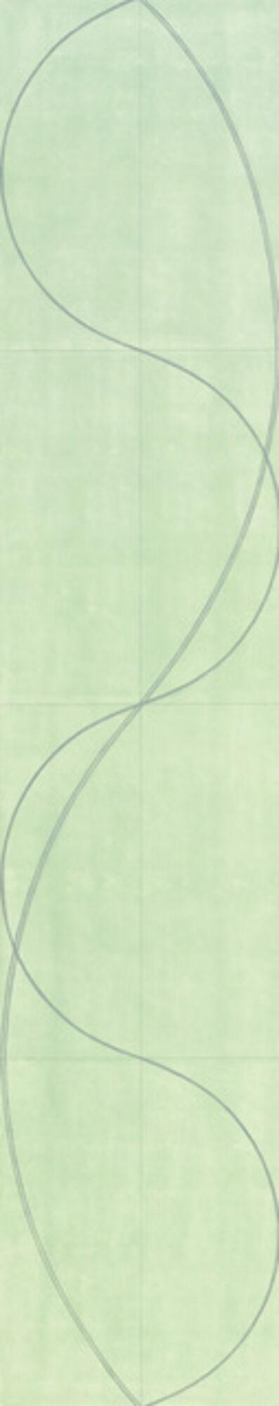 Robert Mangold (b.1937), 'Column/Figure 18', 2004