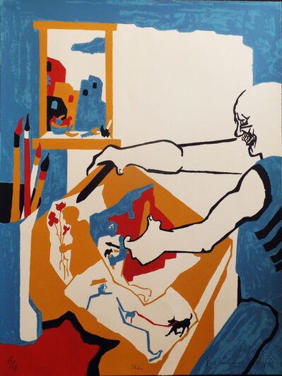 Jacob Lawrence, 'Artist in the Studio', 1994
