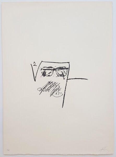Antoni Tàpies, 'Llambrec-6', 1975