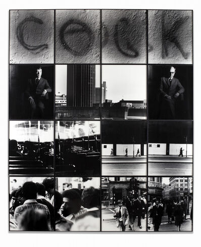 Gilbert and George, 'Cock', 1977