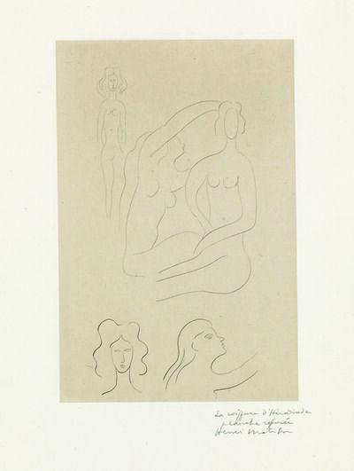 Henri Matisse, 'La coiffure d'Hérodiade', 1932