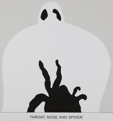 John Baldessari, 'Sediment: Throat Nose and Spider'', 2010
