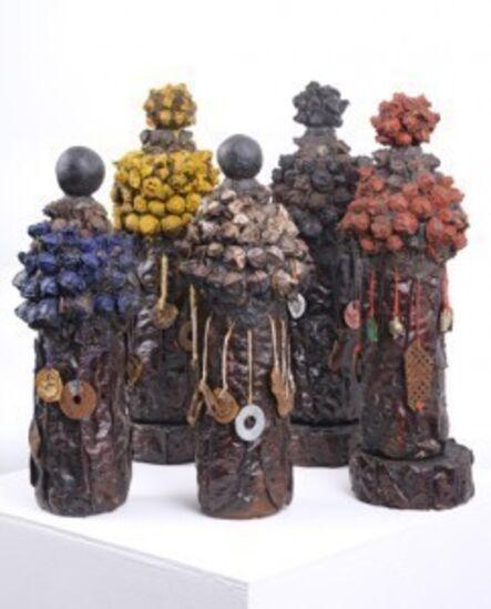 Anne Bouie, 'The Four Directions Ensemble: a set of five vessels '