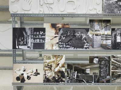Mariana Castillo Deball, 'Stelae Storage (detail)', 2013