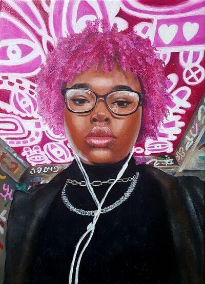 Natasha Aidomon, 'Pink self', ca. 2021