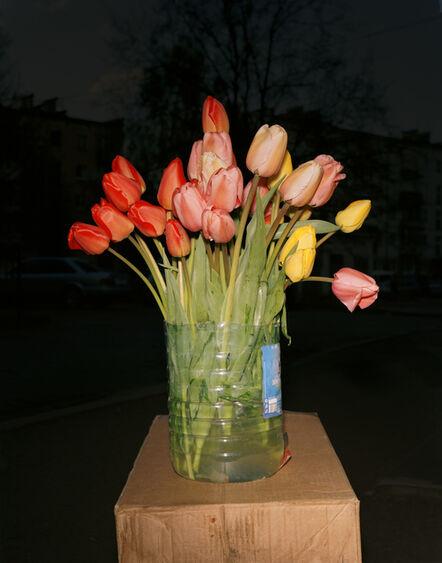 Lia Darjes, 'Stillleben mit Tulpenstrauss, Kaliningrad', 2016
