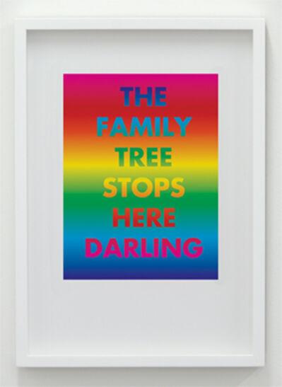 David McDiarmid, 'The Family Tree Stops Here Darling', 1994 / 2012