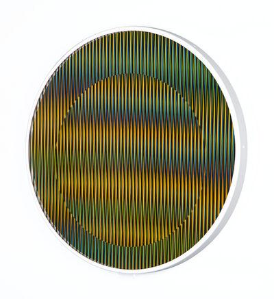 Carlos Cruz-Diez, 'Chromointerference Manipulable Circulaire B', 2013