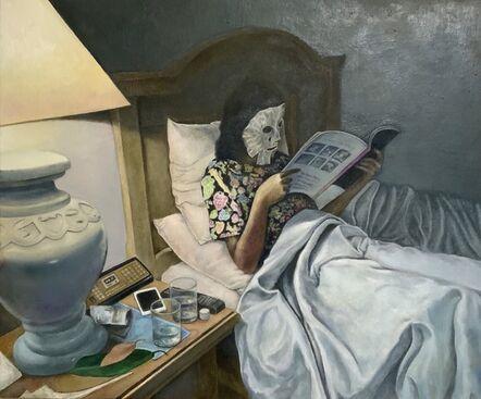 Jumbo Suzuki, 'night mask', 2020