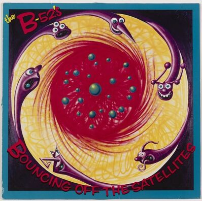 """Kenny Scharf, 'The B-52's """"Bouncing off the Satellites""""', 1986"""