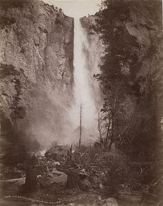 William Henry Jackson, 'The Bridal Veil, Yosemite', 1880s