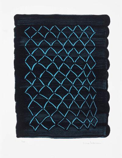 Mona Hatoum, 'Untitled (fence, blue) ', 2018
