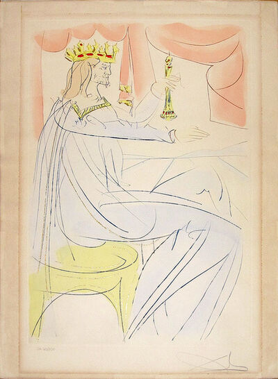 Salvador Dalí, 'King Solomon from Our Historical Heritage', 1975