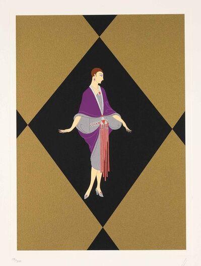 Erté (Romain de Tirtoff), 'Manhattan Mary III', 1989