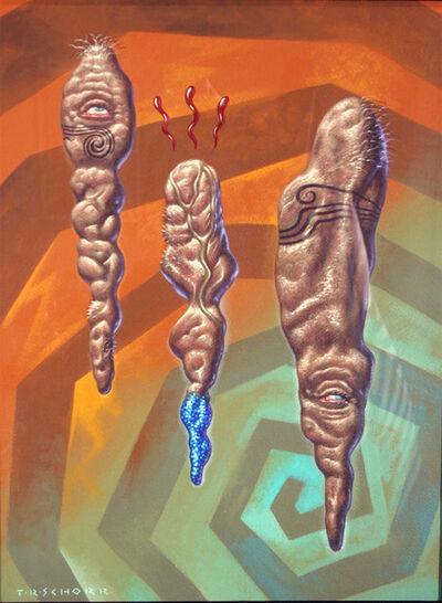 Todd Schorr, 'Heebeejeebee Blodd Sweat', 1991