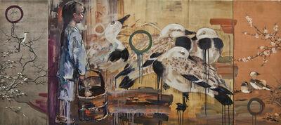 Hung Liu 刘虹, 'Untitled (Evening Light) ', 2014