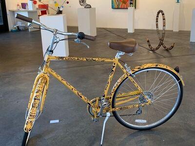 Gary Baseman, 'Untitled (Bike)', 2017