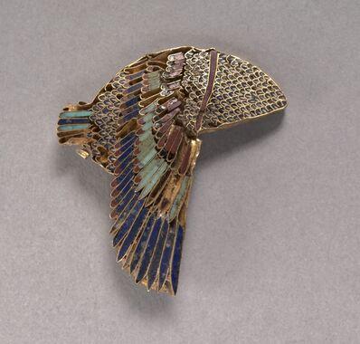 Egypt, Ptolemaic Dynasty, 'Vulture Headdress Inlay', 100-1 BC