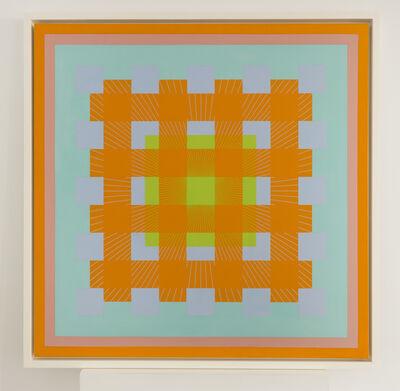 Richard Anuszkiewicz, 'Evoked by Mixture', 1964