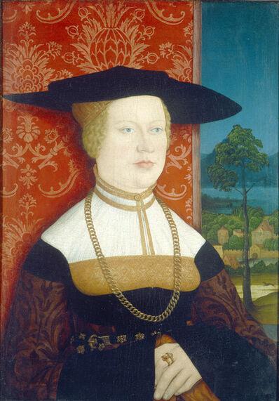 Bernhard Strigel, 'Margarethe Vöhlin, Wife of Hans Roth [obverse]', 1527