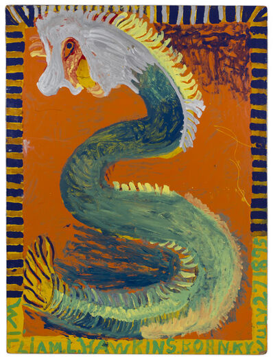 William Hawkins, 'Untitled (Snake)', ca. 1990
