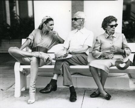 Arthur Elgort, 'Apollonia at the Breakers', 1978