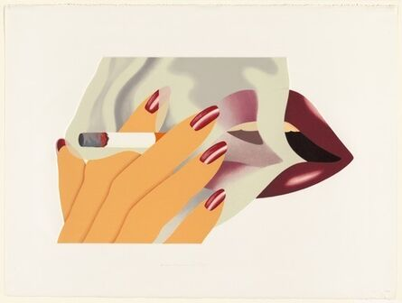 Tom Wesselmann, 'The Smoker', 1976