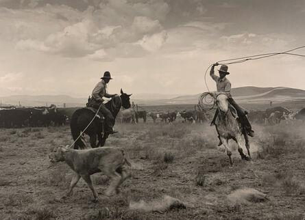 Kurt Markus, 'White Horse Ranch, Fields, OR', 1984