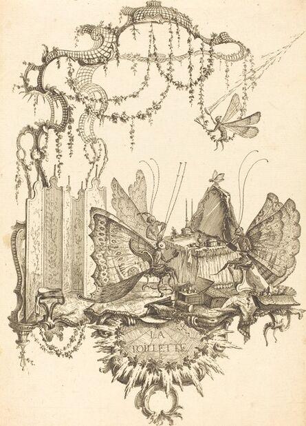 Charles Germain de Saint-Aubin, 'La Toilette', in or after 1756