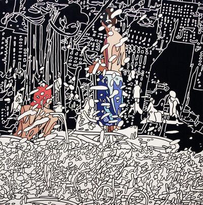 Kentaro Hiramatsu, 'Park-6-U (detail, panel 3 of 9)', 2009