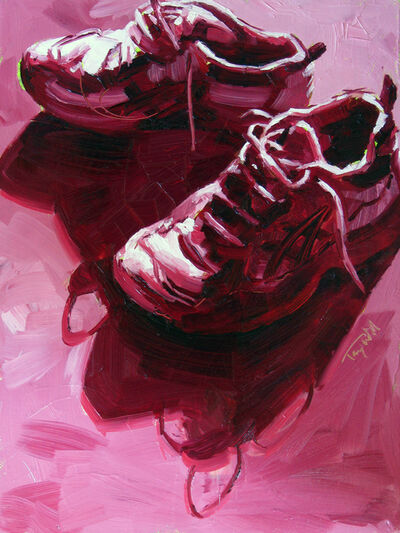 Tracy Wall, 'Raced for the Cure', 2015