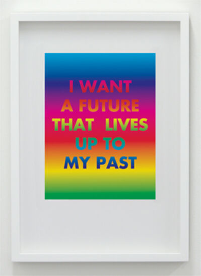 David McDiarmid, 'I Want A Future That Lives Up To My Past', 1994 / 2012