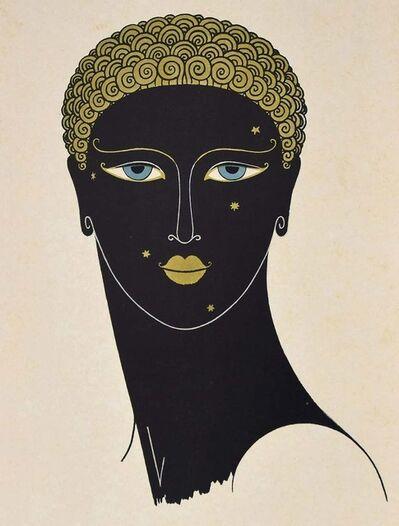 Erté (Romain de Tirtoff), 'Queen of Sheba', 1971