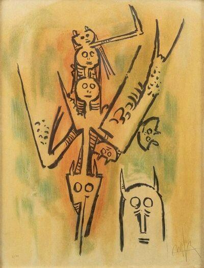 Wifredo Lam, 'Laissez-moi l'Enjamber', 1970s