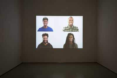 Kehinde Wiley, 'Smile', 2016