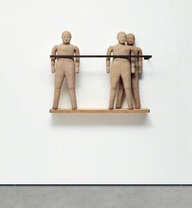 Juan Muñoz, 'Three Figure Balcony'