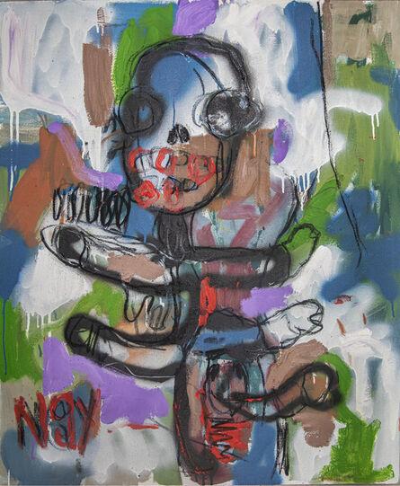 Gresham Tapiwa Nyaude, 'Grey Spaces (Child's Play)', 2021