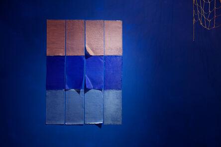 Celina Eceiza, 'Intento de geometría sensible para pared (perteneciente a la muestra No hace falta gritar)', 2015