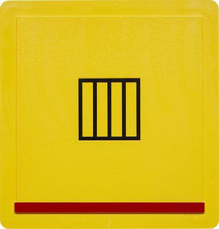 Peter Halley, 'Prison', 1987