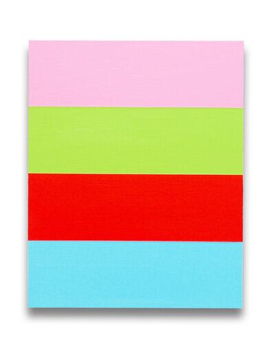 Brent Hallard, 'W4 (Abstract painting)', 2015