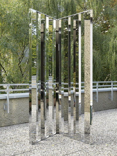 Jeppe Hein, 'Mirror Angle Fragments (60°)', 2014