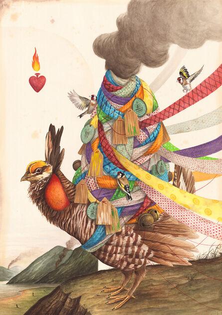 El Gato Chimney, 'The Centre of Everything', 2017