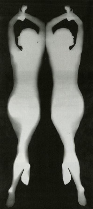 "Floris Neusüss, '""Mirror image, body photogram (nudpgram)"", from the series 'Körperbilder'', 1967"
