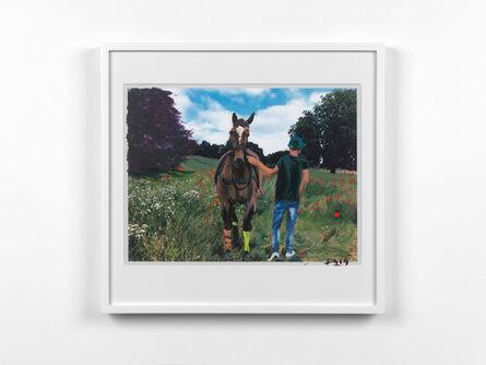 Liu Xiaodong, 'Horse Treading on Flowers', 2019