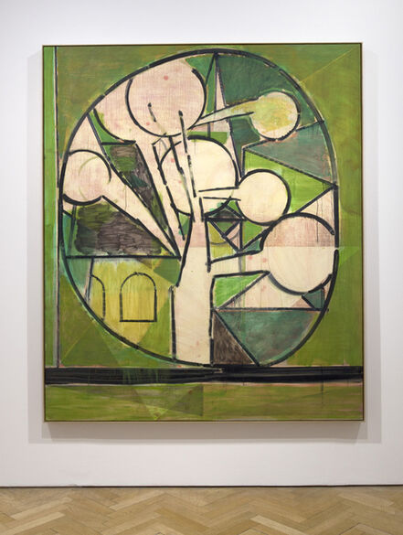 Matthew Burrows, 'Green Tree', 2015