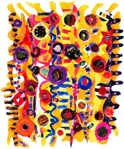 Pacita Abad, 'Pipi's long stockings', 2003