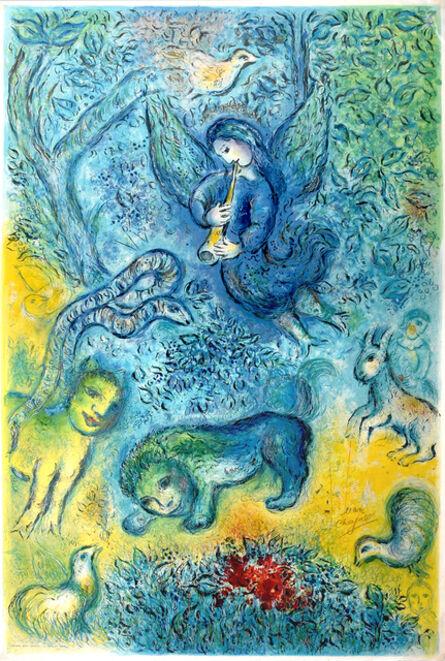Marc Chagall, 'La flûte enchantée (The Magic Flute)', 1967